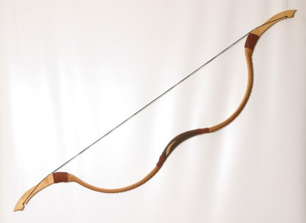 Traditional Mongolian recurve bow T/112-418