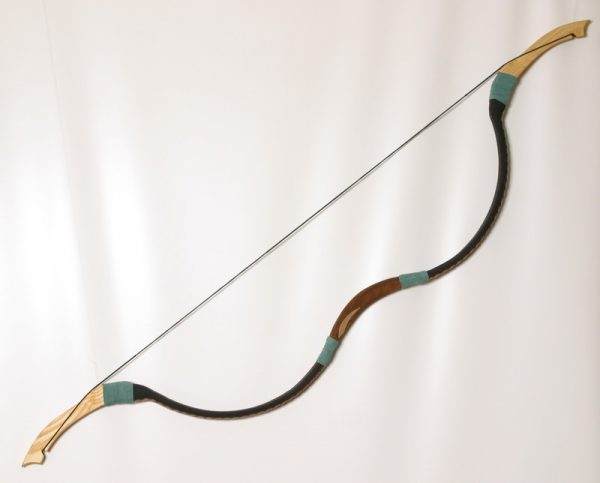 Traditional Mongolian recurve bow T/114-0