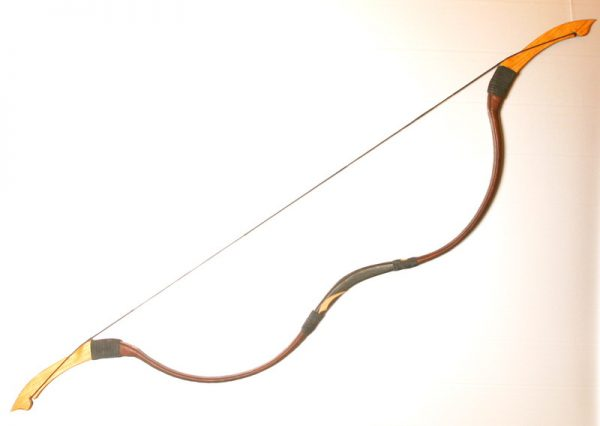 Traditional Mongolian recurve bow T/292-0