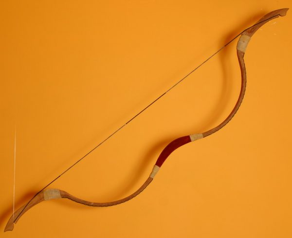 Traditional Mongolian recurve bow T/158-827