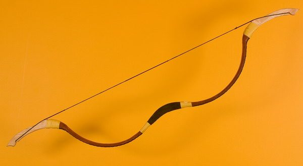 Traditional Mongolian recurve bow T/166-0