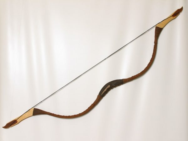 Traditional Mongolian recurve bow TI/104-0