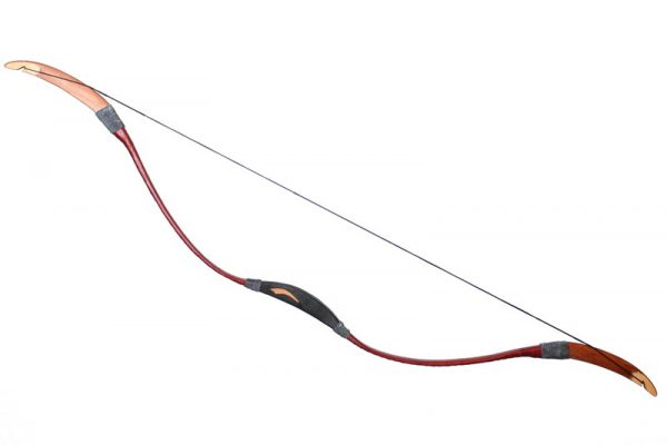 Traditional Hunnish recurve bow 25-65LBS T/607-700