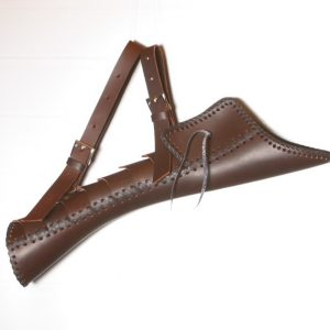 Traditional quiver belt construction T/302-0