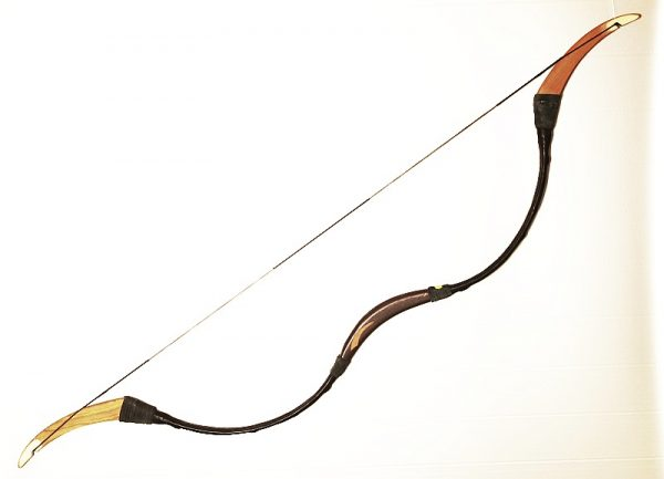 Decorated Traditional Hungarian recurve bow T/345-617