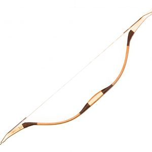 Horn decorated Bashkir recurve bow G/369-0