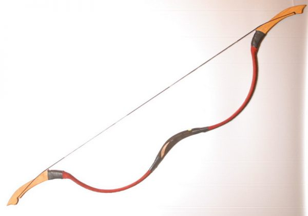 Traditional Mongolian recurve bow T/310-0