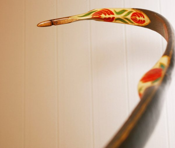 Traditional Turkish hand painted recurve bow G/289-1779