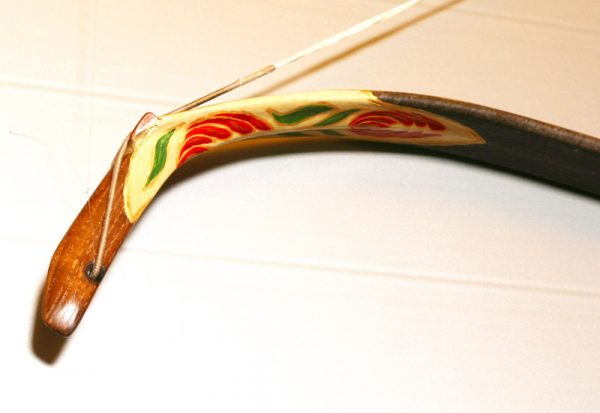 Traditional Turkish hand painted recurve bow G/289-1780