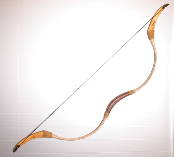Decorated Traditional Hungarian recurve bow T/258-532