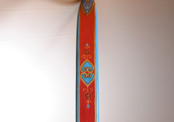 Traditional Turkish hand painted recurve bow G/244-1783