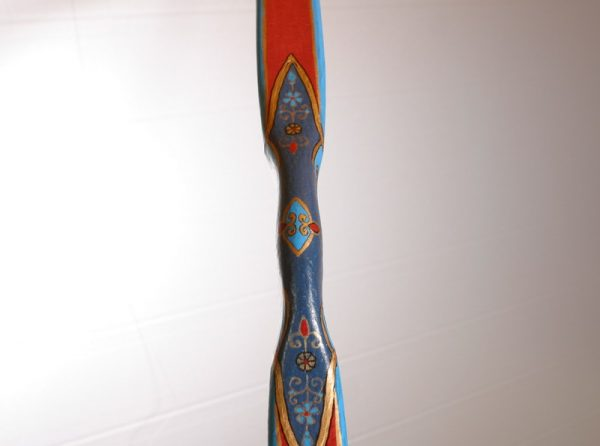 Traditional Turkish hand painted recurve bow G/244-1786