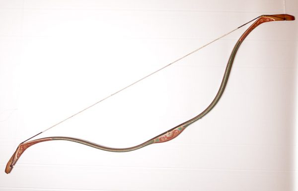 Traditional Turkish hand painted recurve bow G/311-0