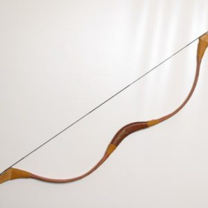 Traditional Mongolian recurve bow TI/109-0