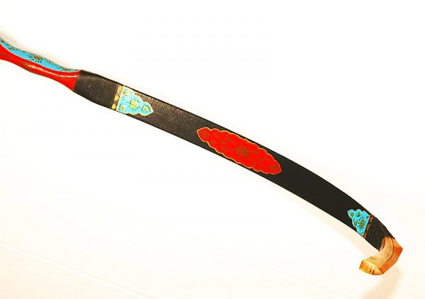 Biocomposite hand painted Turkish bow G/123-1833