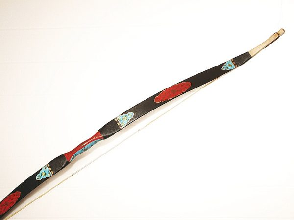 Biocomposite hand painted Turkish bow G/123-1831