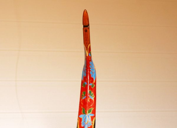 Traditional Turkish hand painted recurve bow G/332-1846