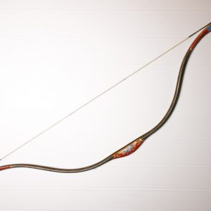 Traditional Turkish hand painted recurve bow G/332-0