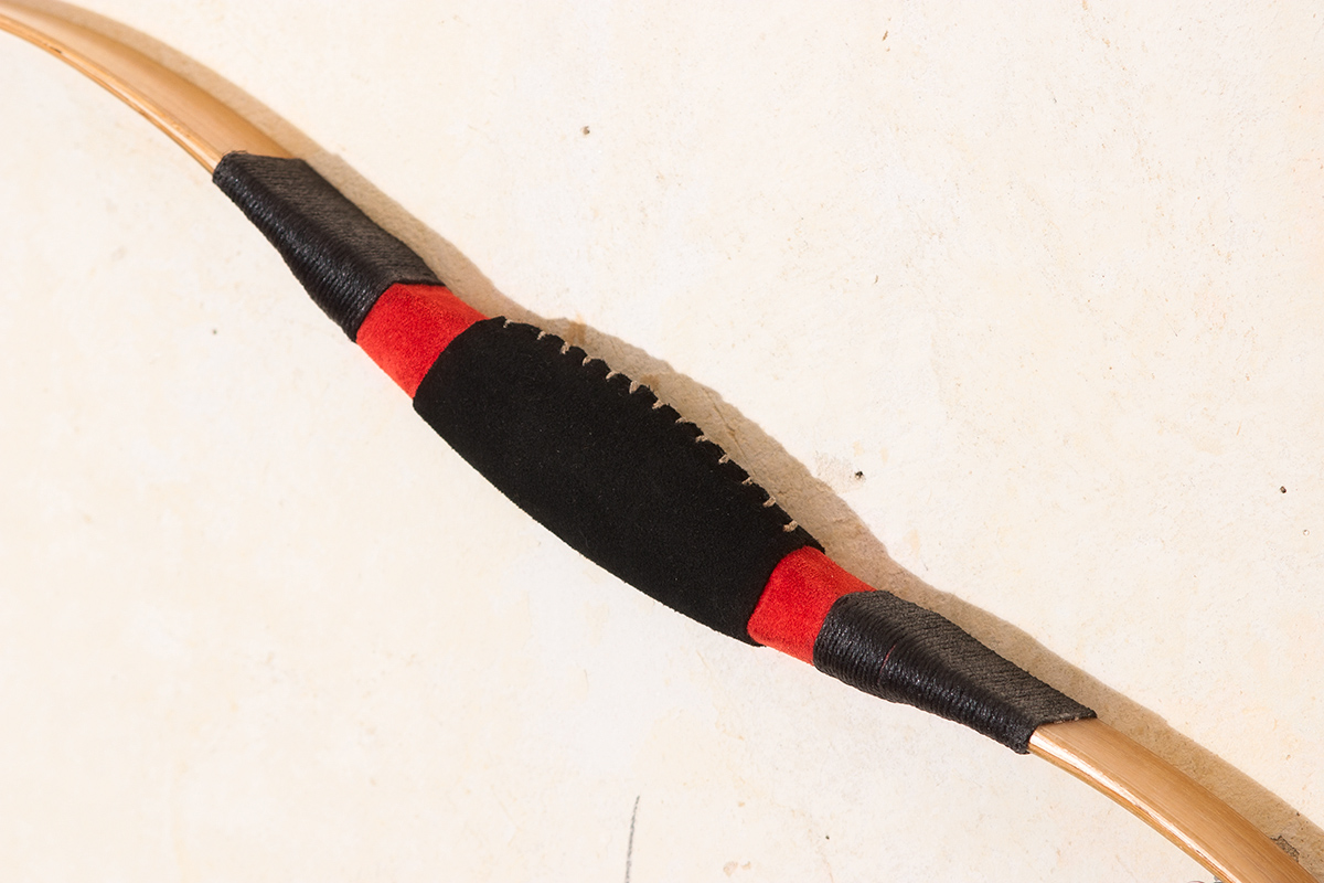 Traditional Tatar recurve bow