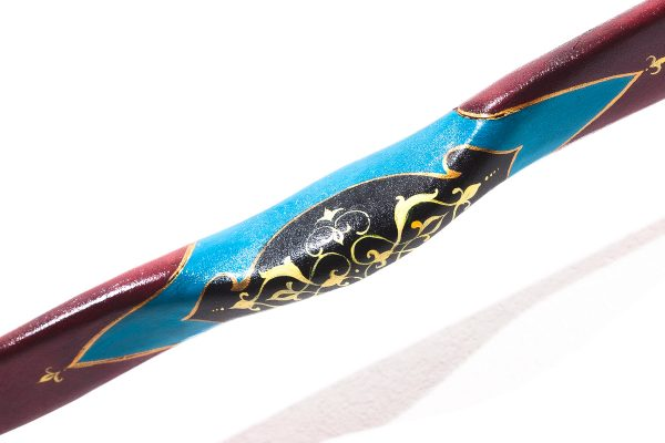 Traditional Turkish hand painted recurve bow G/453-2063