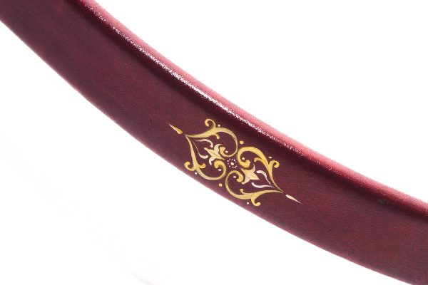 Traditional Turkish hand painted recurve bow G/453-2068