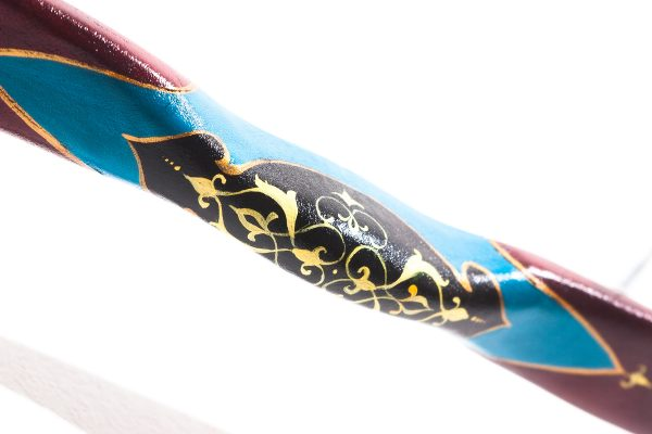 Traditional Turkish hand painted recurve bow G/453-2066
