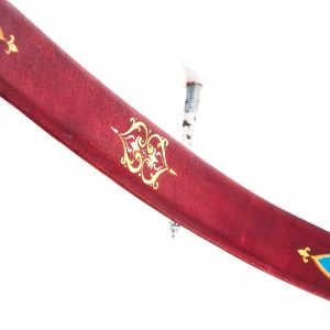Traditional Turkish hand painted recurve bow G/453-0