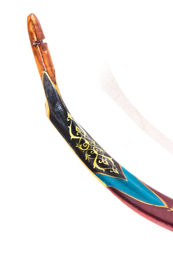 Traditional Turkish hand painted recurve bow G/453-2069