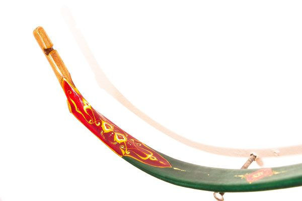 Traditional Turkish hand painted recurve bow G/452-2055