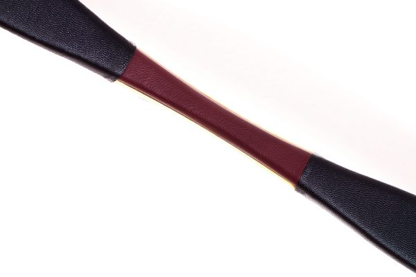 Decorated leather custom Mongolian bow K/08-2013