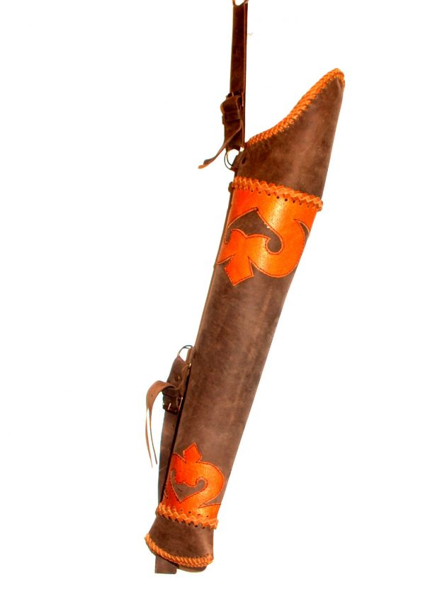 Hun Traditional quiver belt construction T/749-0