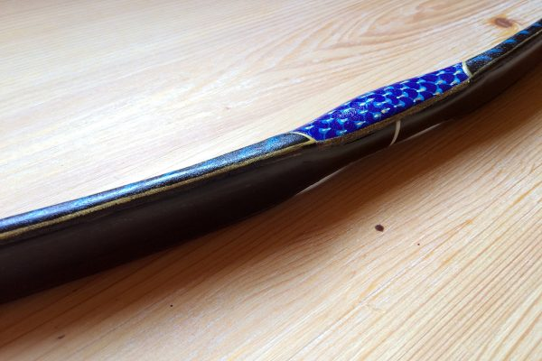 Grózer Traditional Turkish horn bow hand-painted G/011-2757